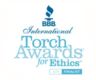 2018 BBB Finalist Torch Award in Ethics