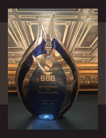 2017 BBB Torch Award for Ethics - Safety NET, LLC